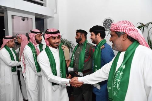وصول بعثة المنتخب السعودي لكرة القدم إلى دبي