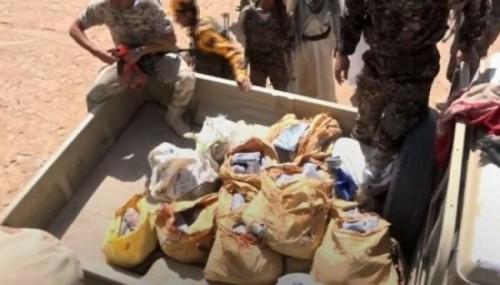 ضبط شحنة من مخدر الحشيش بمأرب كانت في طريقها إلى الحوثيين