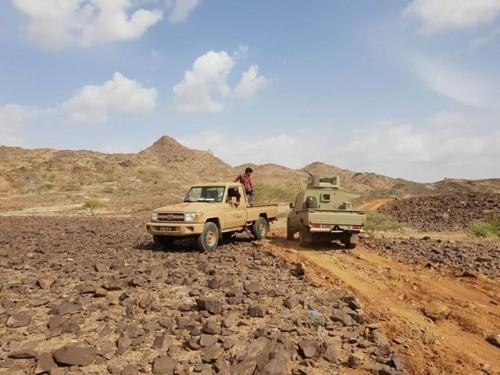 تدمير 5 آليات عسكرية حوثية في كتاف (تفاصيل)