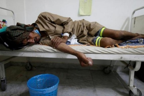 بسجن الحوثي المركزي.. ظهور حالة مصابة بالكوليرا في إب