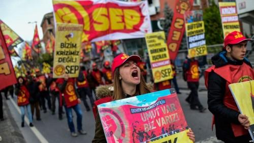 اسطنبول تشتعل بالتظاهرات ضد الفساد الحكومي