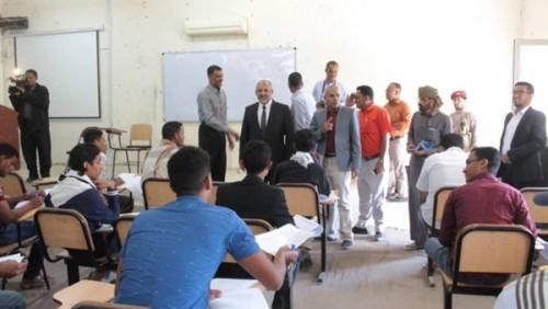 بدء الإمتحانات النصفية في مدارس وادي حضرموت