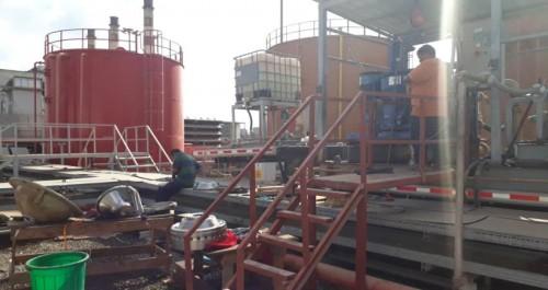 صيانة شاملة لمحطة الحسوة 2 في عدن
