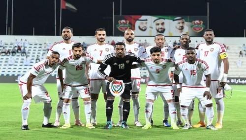 منتخب الإمارات يكشف عن قائمة الأبيض لكأس أمم آسيا