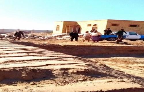 إعادة بناء مقر شرطة الكود في أبين