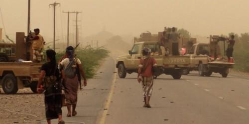 مليشيات الحوثي تهاجم مديرية التحتيتا والقوات المشتركة تتصدى