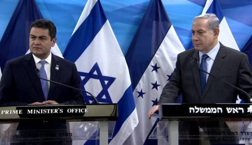 """""""هندوراس"""" تساوم إسرائيل لنقل سفارتها إلى القدس"""