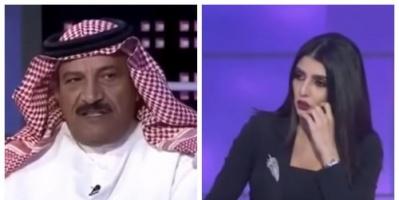 إعلامية سعودية تطرد عضو مجلس شورى سابق على الهواء (فيديو)