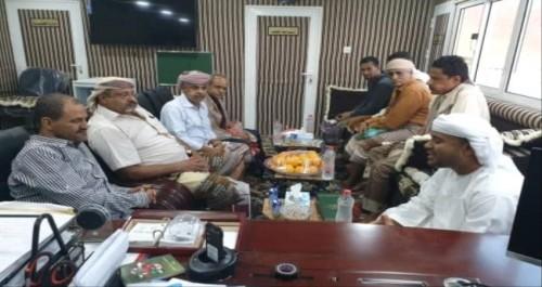 اجتماع أمني بين إدارات الشرطة في عدن وحضرموت (تفاصيل)
