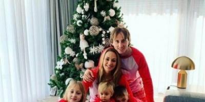 لوكا مودرتش يحتفل مع متابعيه بعيد الميلاد المجيد