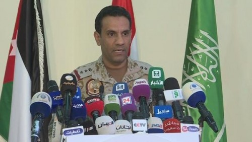 التحالف العربي: مليشيا الحوثي تواصل خرق وقف إطلاق النار بالحديدة