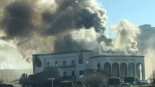 داعش تعلن مسؤوليتها عن تفجير وزارة الخارجية الليبية بطرابلس