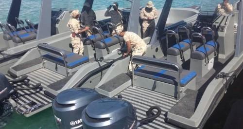 5 زوارق سعودية لخفر السواحل تصل المهرة