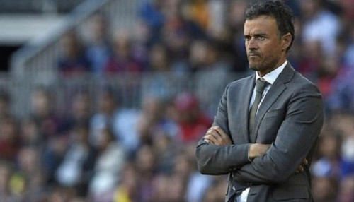 إنريكي: راض عن أداء منتخب إسبانيا