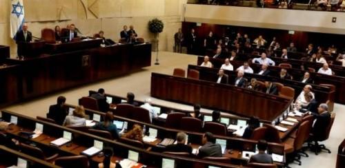 الكنيست الإسرائيلي يصوت على حل نفسه