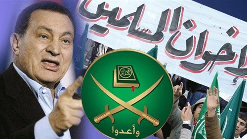 شاهد.. فيديو نادر لـ مبارك يتحدث عن خبث الإخوان