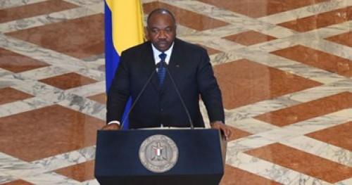 الرئيس الجابوني يشارك شعبه أحتفالات رأس السنه بخطاب يبث من الرباط