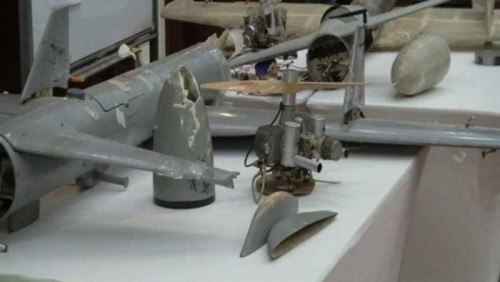 تفاصيل جديدة في واقعة ضبط شرطة الجوف حمولة من مواد تصنيع الطائرات المسيرة