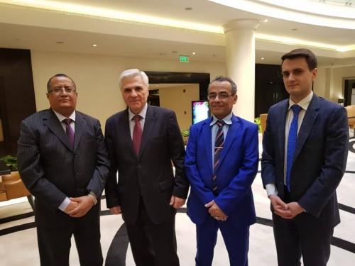 اجتماع هام بين قيادات الانتقالي والسفير الروسي لدى اليمن