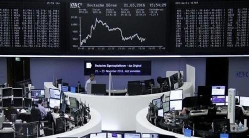 النزاع التجاري بين واشنطن وبكين يهبط بالأسهم الأوروبية لمستويات 2016