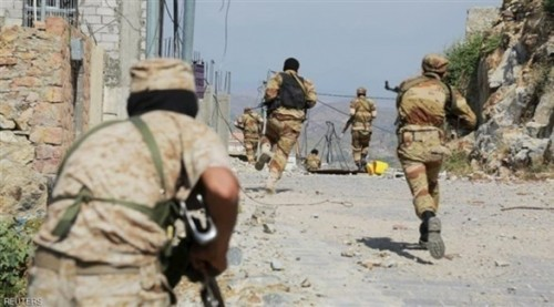 مصرع  العشرات من مليشيا الحوثي بتعز