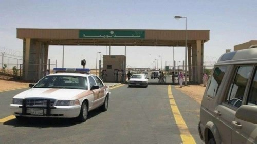 المركز الصحي بمنفذ الوديعة البري يتسلم سيارة إسعاف