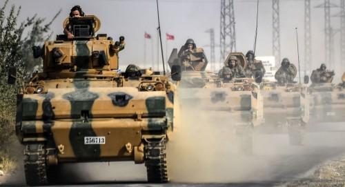 قوات أردوغان تواصل حشدها على حدود سوريا