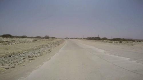 تنبيه هام من قيادة المنطقة العسكرية الثانية بشأن إغلاق خط الشحر مؤقتاً