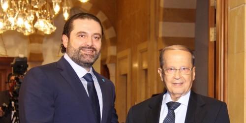 """""""القوات اللبنانية"""" يدعو ميشيل عون والحريري لحسم الحكومة"""