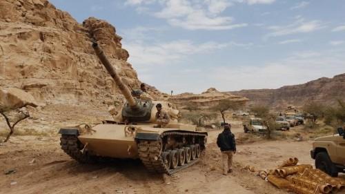 تحرير مناطق في جبهة مران غربي صعدة من المليشيات