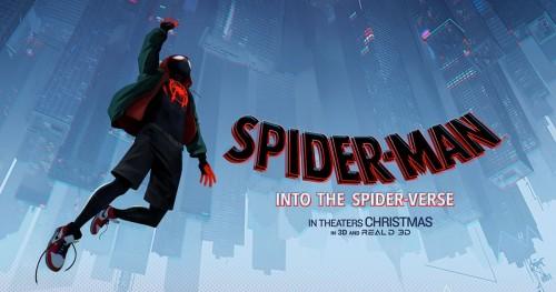 طرح نسخة pdf من سيناريو فيلم Spider-Man: Into the Spider-Verse للجمهور