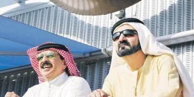 برقية إشادة من العاهل البحريني بالشيخ محمد بن راشد