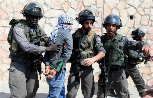 الاحتلال الإسرائيلي يعتقل 21 فلسطينياً بالضفة والقدس
