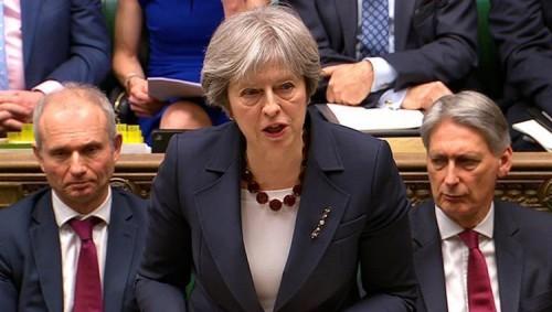 """ماي: تصويت البرلمان على """"بريكسيت"""" سيخرج بريطانيا من مرحلة حرجة"""