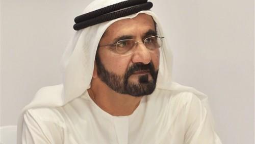 بن راشد يُغرد عن احتفالات الإمارات بعام 2019