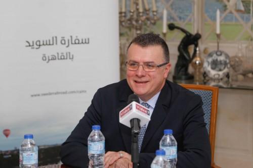 سفير السويد بالقاهرة: أسعى لبناء جسور قوية جديدة مع مصر