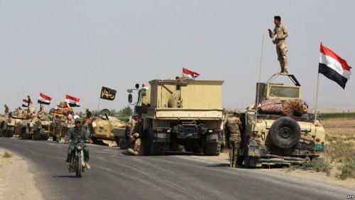"""عملية عسكرية موسعة شرقي العراق لتتبع عناصر """"داعش"""""""