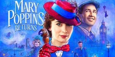 في أسبوعين.. فيلم Mary Poppins Returns يحصد 174 مليون دولار
