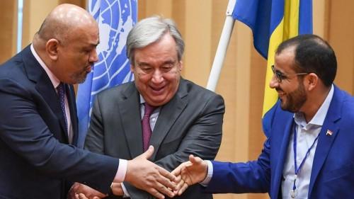 غلاب يحذر الحوثيين من عدم تنفيذ اتفاق السويد