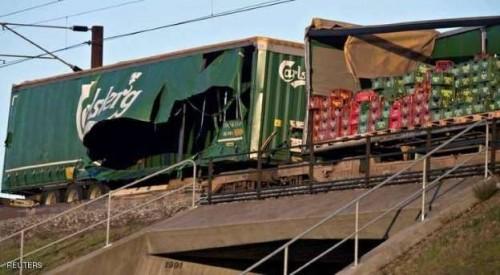 حادث قطار بالدنمارك يسفر عن 6 قتلى