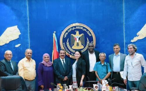 تفاصيل لقاء أعضاء «الانتقالي الجنوبي» بممثلي مكتب المبعوث الأممي لدى اليمن