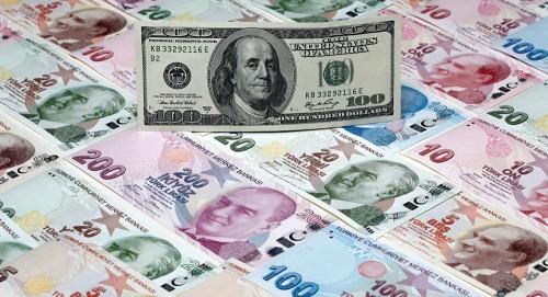 توقعات بهبوط الليرة التركية أمام الدولار قريباً
