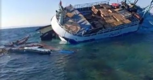 مصرع شخص وفقد 10 آخرون إثر غرق سفينة في الصين