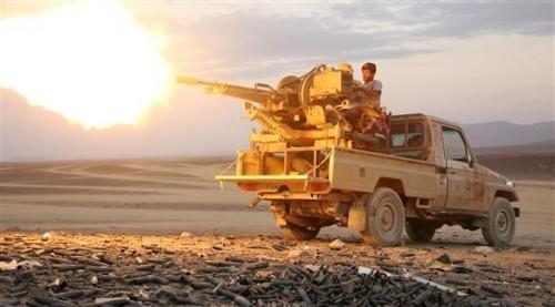 قوات الشرعية تحرر مساحات واسعة من قبضة مليشيا الحوثي بالجوف وتكبدها خسائر فادحة
