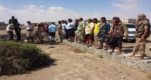 إزالة العشوائيات المقامة على أراض مخصصة لمشاريع خدمية بدار سعد