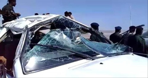 تفاصيل إصابة عشرة جنود في انقلاب دورية عسكرية بأبين