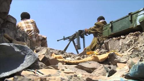 صد هجوم عنيف لمليشيا الحوثي بمديرية القبيطة