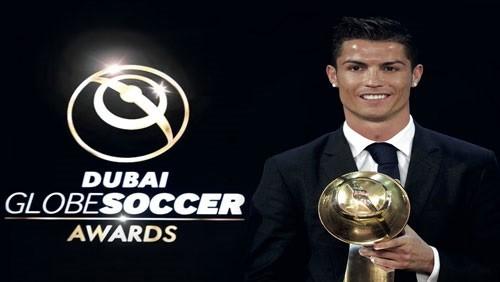 رونالدو يتوج بجائزة جلوب سوكر للأفضل في العالم