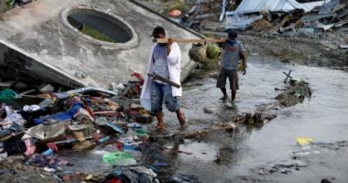 الأمم المتحدة: 400 شخص ضحايا تسونامي أندونيسيا