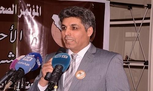 """""""الكعبي"""": نتمنى أن تشهد 2019 دعماً عربياً إسلامياً لاستقلال """"الأحواز"""""""